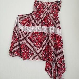 FREE PEOPLE handkerchief skirt